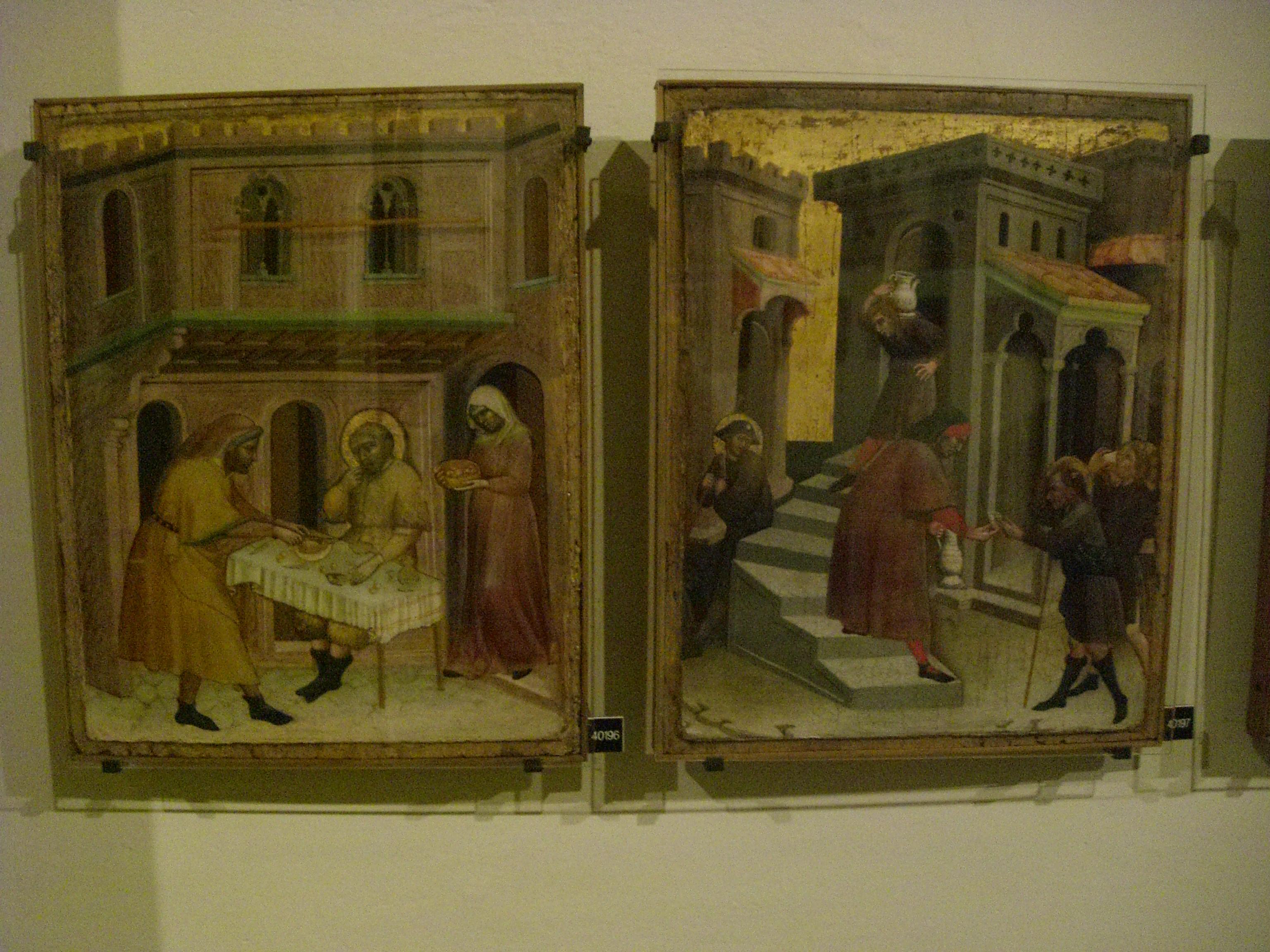 Vatican Museum Pinacoteca Art Gallery Seven Works Of