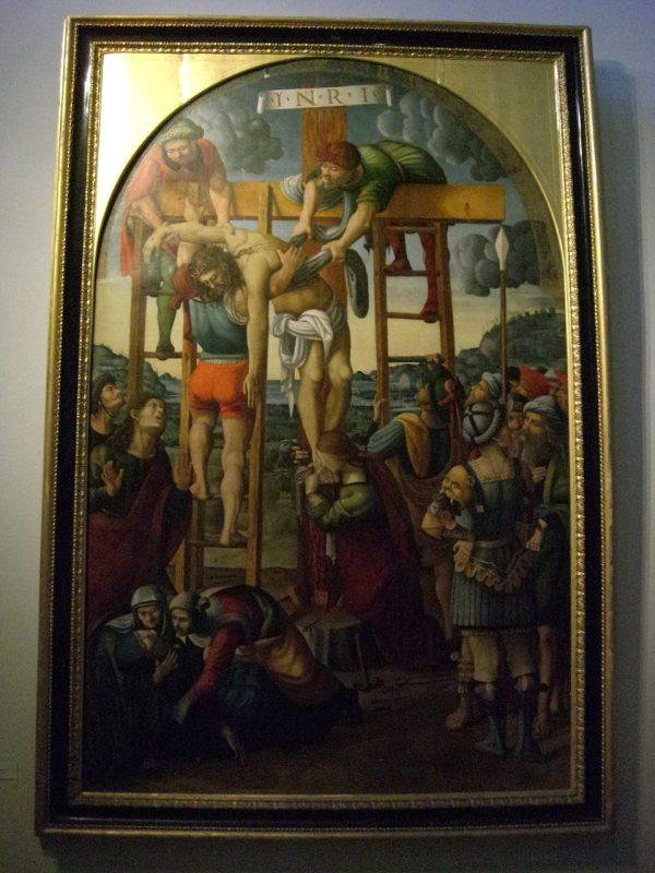 Vatican Museum Pinacoteca Art Jesus' Body