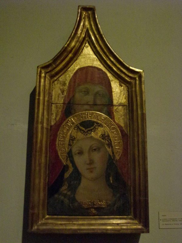 Vatican Museum Pinacoteca Art Icon Of Saint Ann And Blessed Virgin Mary