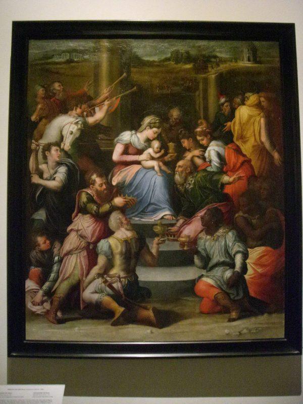 "Vatican Museum Pinacoteca Art "" Adoration Of"