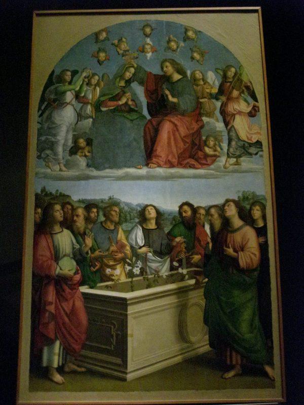 "Vatican Museum Pinacoteca Art "" Coronation"