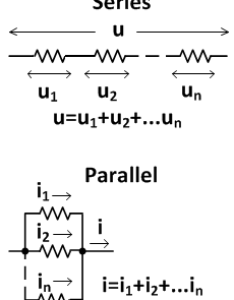 Series and parallel connections also electronic circuit formulas ohm   law pie chart calculator rh smps