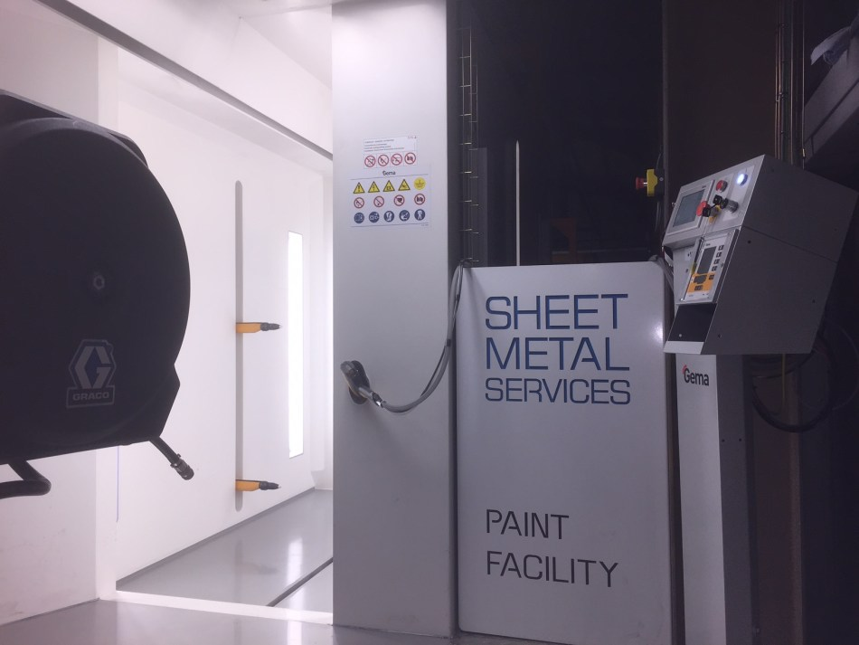 Sheet Metal Services Powder Coating Facility