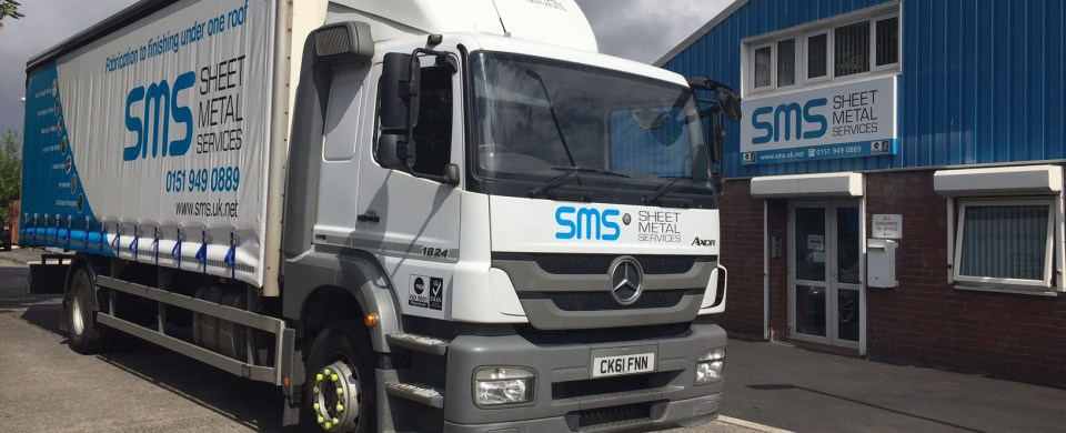 Mercedes-Benz Axor at Sheet Metal Services