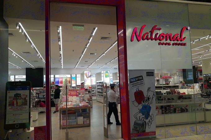National Bookstore, Sm Seaside City Cebu, Philippines!