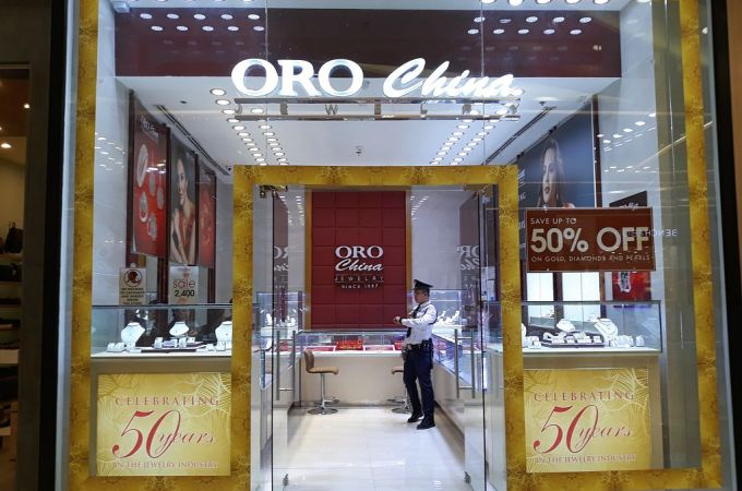 ORO CHINA – SM Seaside City, Cebu, Philippines!