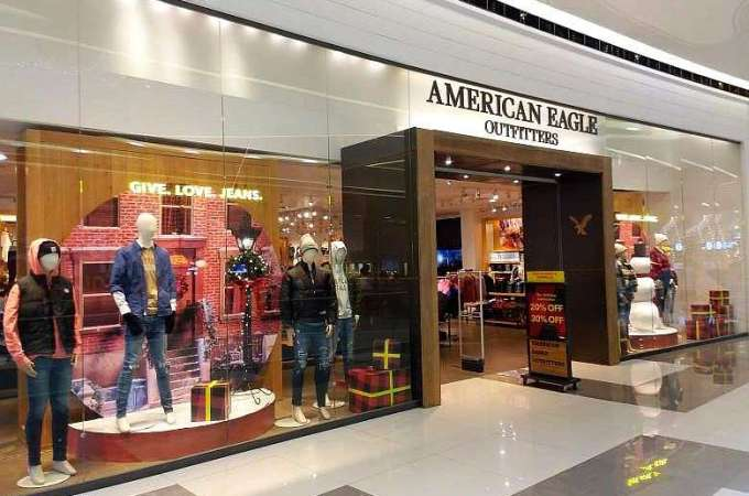 American Eagle Outfitters SM Seaside City Cebu Philippines