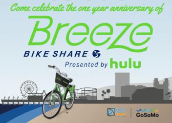 Breeze 1 year Celebration