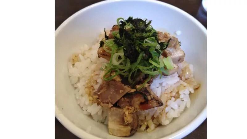 麺屋燕-ネギチャーシュー丼