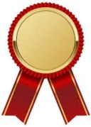 Gold Medal with Red Ribbon PNG Clipart Image | Ribbon png, Ribbon ...