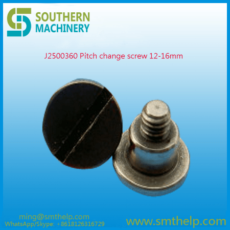 J2500360 Pitch change screw 12-16mm Samsung smt spare parts
