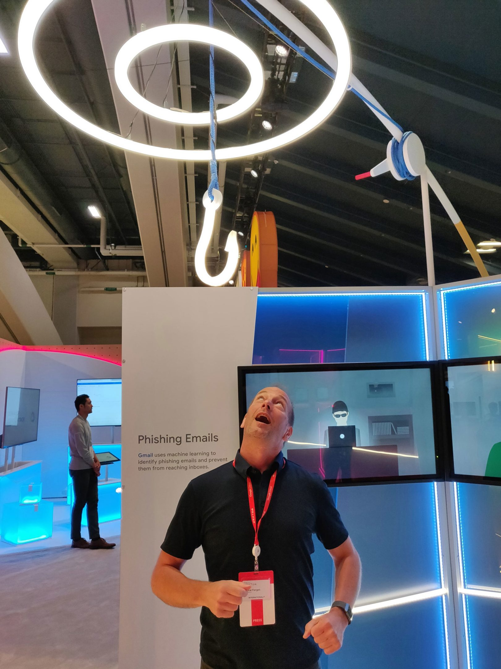 hameçonnage fishing Google Cloud Next 2018 San Francisco