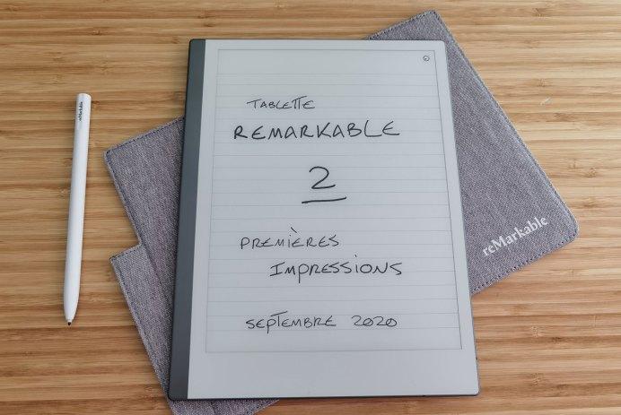 tablette remarkable 2 stylet étui