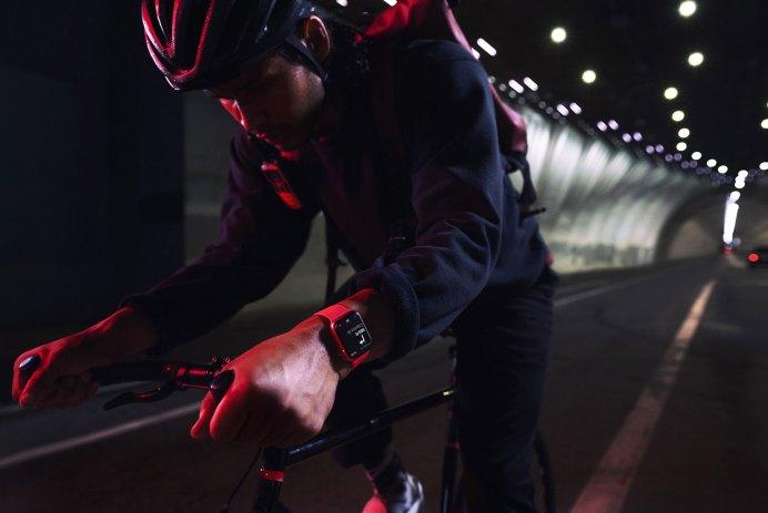apple watch series 7 vélo