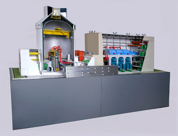 Nuclear Reactor Model  Scale Models Unlimited