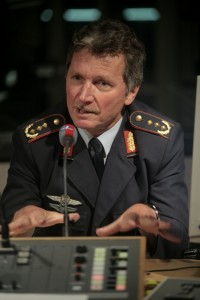 Karlheinz Viereck leitete das Einsatzführungskommando in Potsdam.