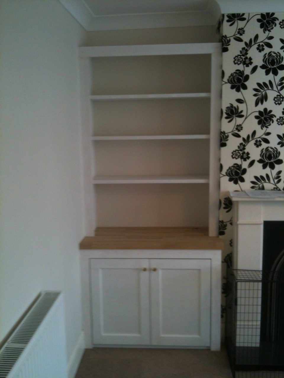 Alcove Shelving  Smudge Creation