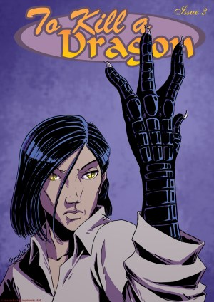 To Kill A Dragon, Part 3, Cover