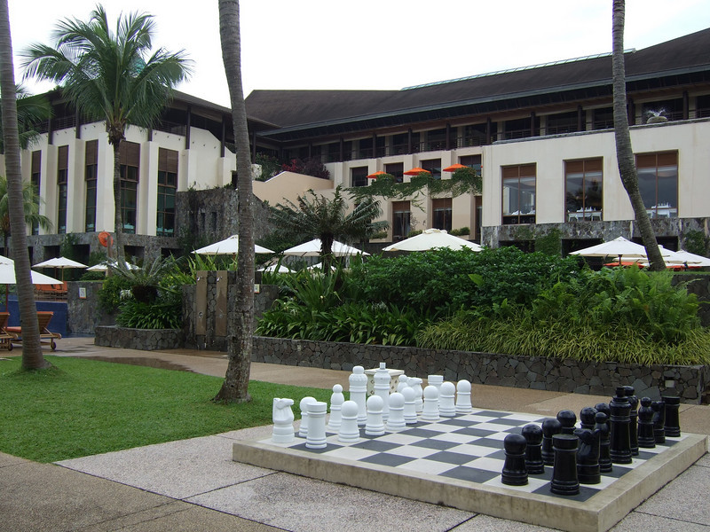 Club Med Bintan Giant Chess Set