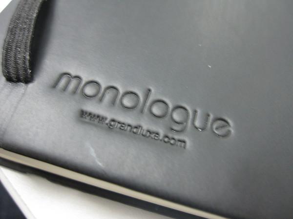 Monologue Notebook Close Up