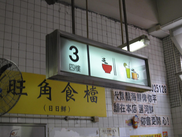 3rd Floor but Chinese is 4th floor