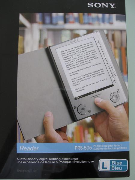 Sony PRS505 Ebook Reader Box