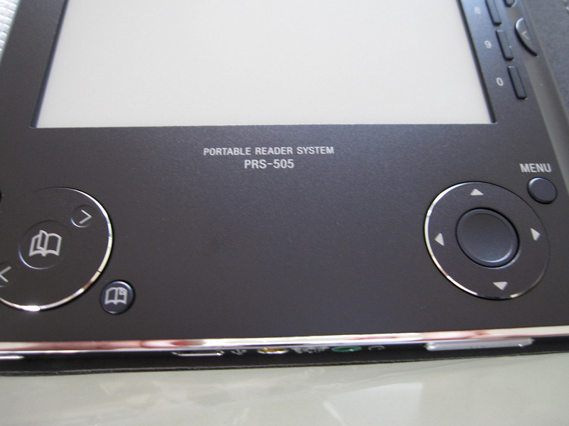 Sony PRS505 Ebook Reader Close Up 3