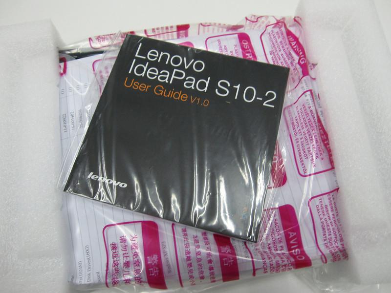 Lenovo S10-2 still wrapped
