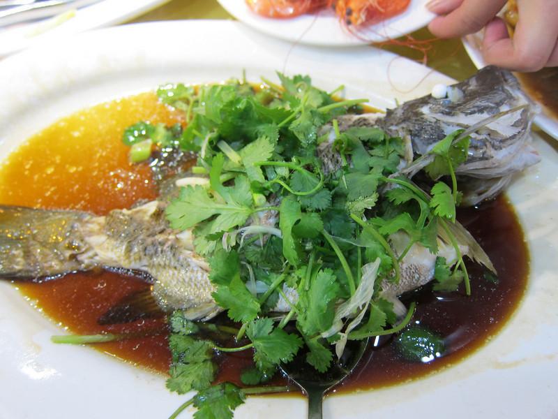 Seafood Dinner at Sai Kung Hong Kong