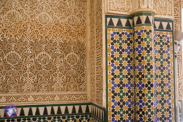 A Decorative Tiled Elaborately Carved Wall Near the Harem (©simon@myeclecticimages.com)