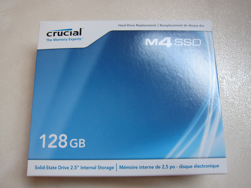 128GB Crucial M4 SSD