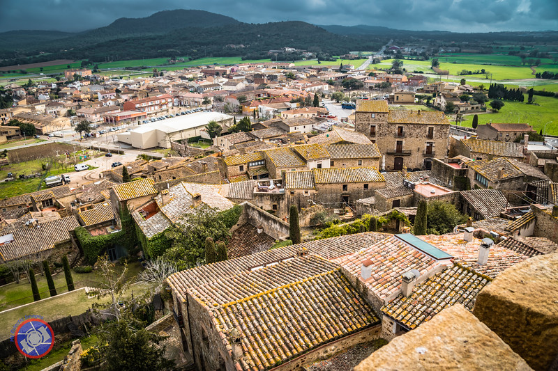 View from the Top of the Tower of Hours in Pals (©simon@myeclecticimages.com)