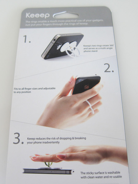 Keeep Smart Finger Phone Stand