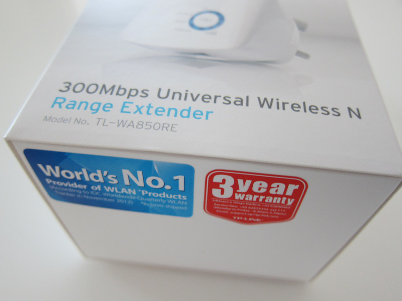 TP Link TL-WA850RE 300Mbps Universal Wireless N Range Extender -