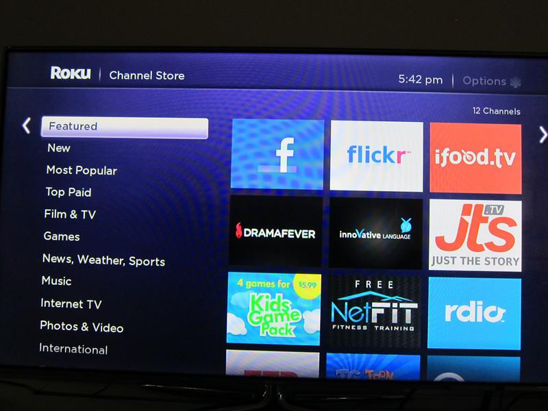 Roku 3 Singapore Adding Channels