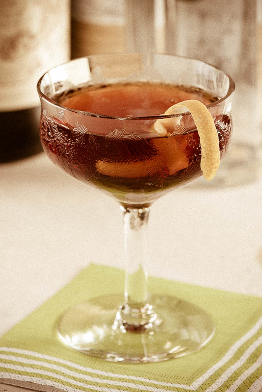 The Martinez Cocktail, photo copyright © 2012 Douglas M. Ford. All rights reserved.