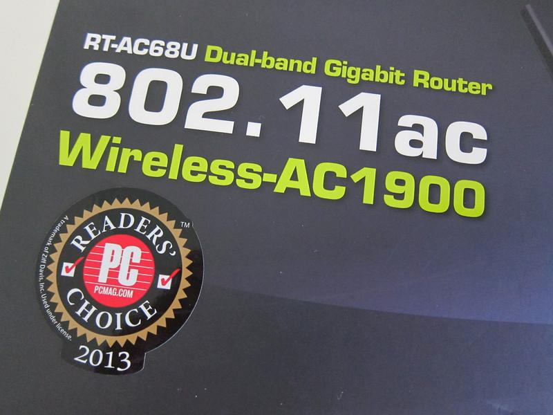 ASUS (RT-AC68U) Wireless-AC1900 Dual-Band Gigabit Router