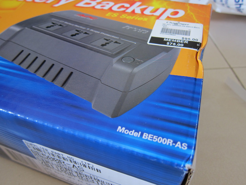 APC BACK-UPS ES 500VA 230V FOR ASE