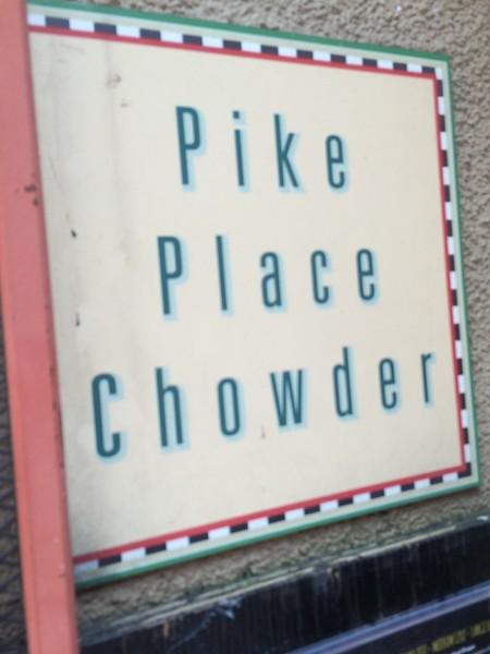 Seattle Pike Place Chowder
