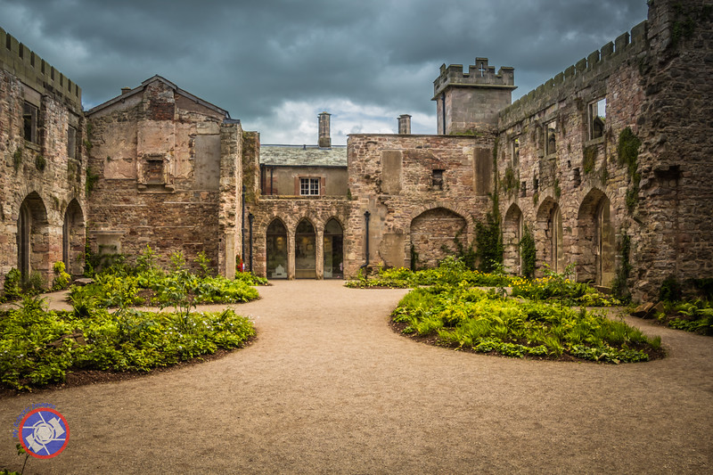 Gardens Created within the Walls of Lowther Castle (©simon@myeclecticimages.com)