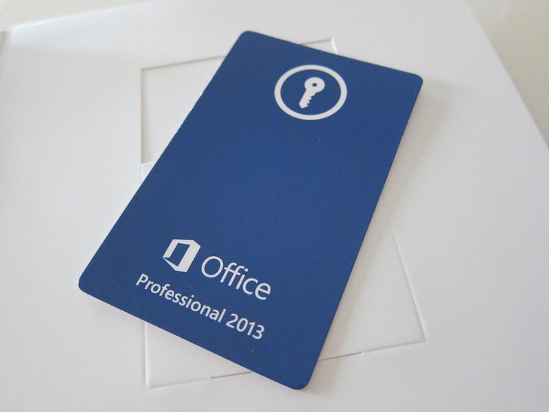 Microsoft Office Professional 2013 Retail Box