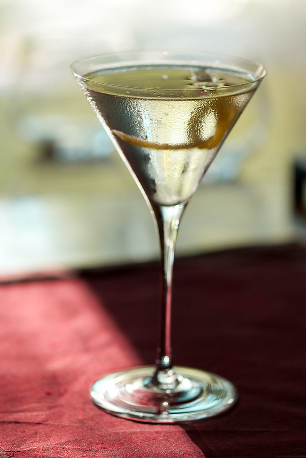 Smoky Martini, photo ©2011 Douglas M. Ford. All rights reserved.