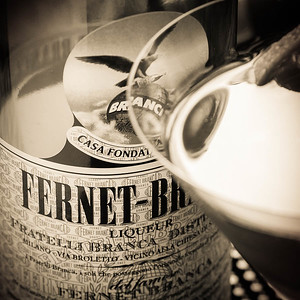 Fernet-Branca and the Toronto Cocktail (detail)
