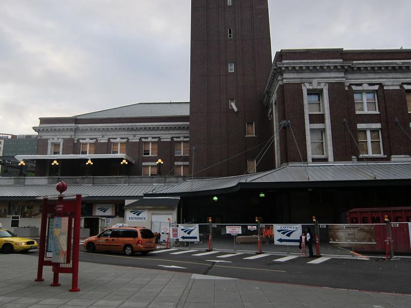 Seattle Amtrak King Cross Station
