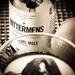 Bittermens Xocolatl Bitters, photo © 2014 Douglas M. Ford. All rights reserved.