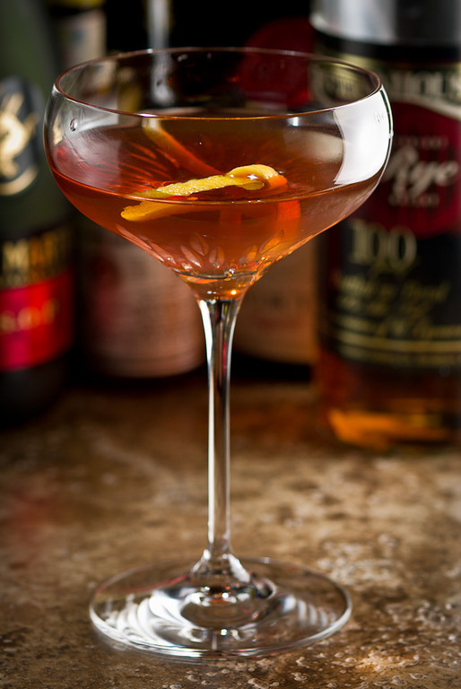 The Vieux Carré Cocktail, photo copyright © 2012 Douglas M. Ford. All rights reserved.