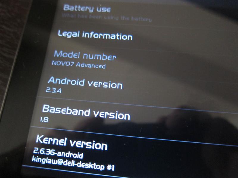 Adding 3G Dongle to Ainol Novo 7 Advanced