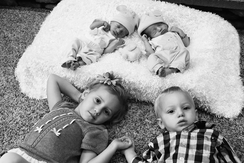 Isaac, Roman and their siblings