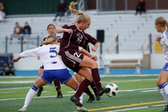 SMU tops Moncton 2-1 in final home game