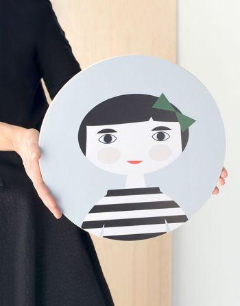 Decoratief wandpaneel snijplank – Leena